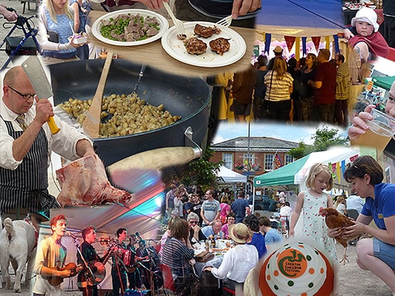 Crediton Food and Drink Festival 2014